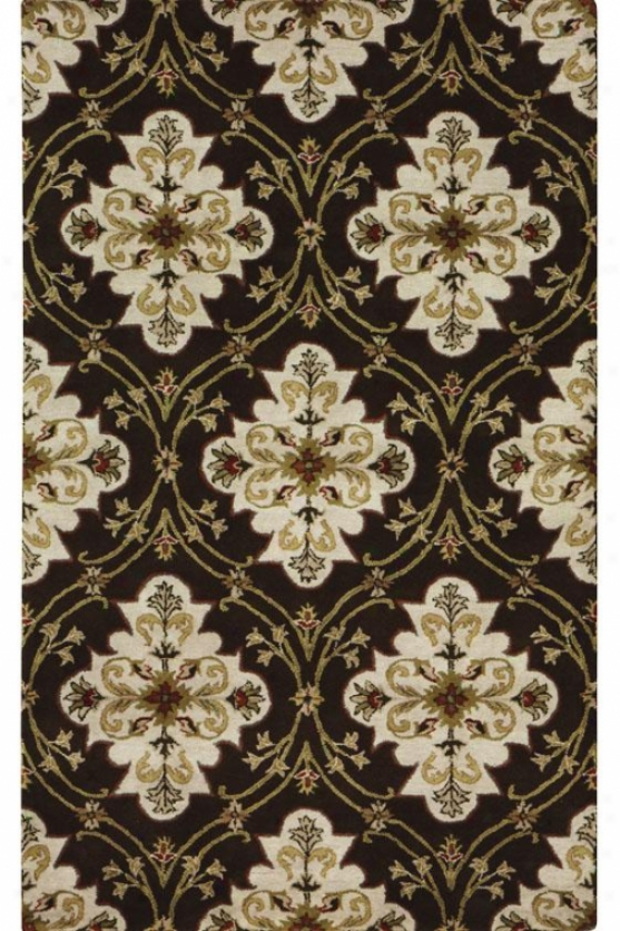 """isabellle Superficial contents Rug - 2'6""""x8' Runner, Brown"""
