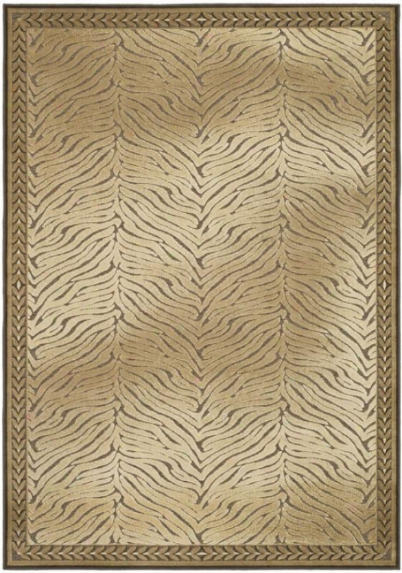 """kama Afea Rug - 8'x11'2"""", Brown"""