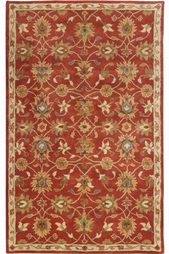 """kent Rug - 9'6""""x13'6"""", Red"""