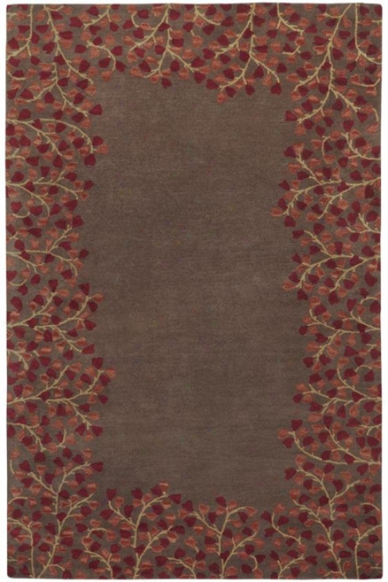 """lairemore Area Rug - 7'6""""x9'6, Coffee Bean"""
