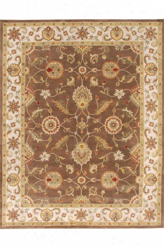 Lisette Area Rug Ii - 2'x3', Chocolate Brown