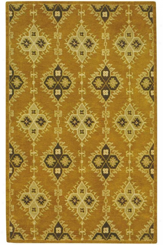 """loire Area Rug - 2'9""""x14' Runner, Gold"""