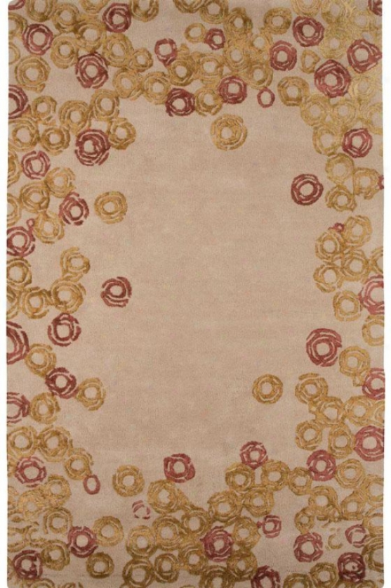 Loops Area Rug - 2'x3', Mysterious Ivory