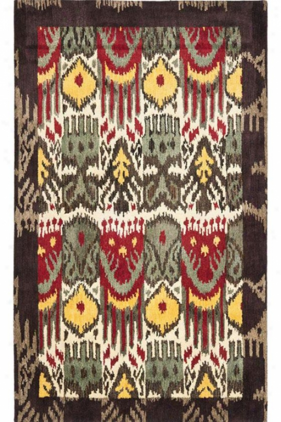 Louis Area Rug - 6'x6' Square, Multi