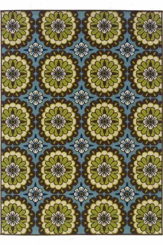 """lucia Area Rug - 2'5""""x4'5"""", Brown"""