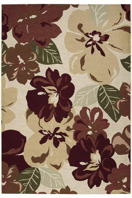 """lulu Area Rug - 2'3""""x3'11"""", Rose Bud"""