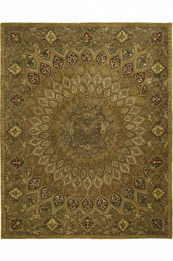 """lyre Area Rug - 7'6""""x9'6"""", Brown/grey"""