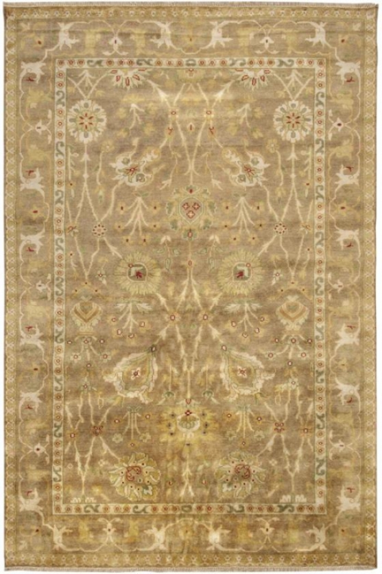 Macmillian Area Rug - 3'9x5'9, Venetian Red
