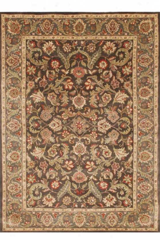 """marielle Area Rug - 3'6""""x5'6"""", Brown"""