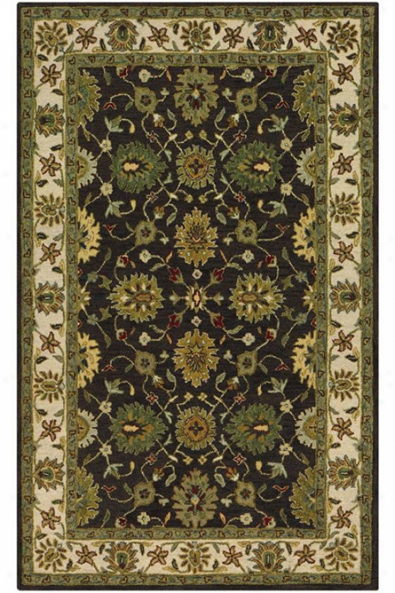 Marlborough Area Rug - 3'x5', Chocolate Brown