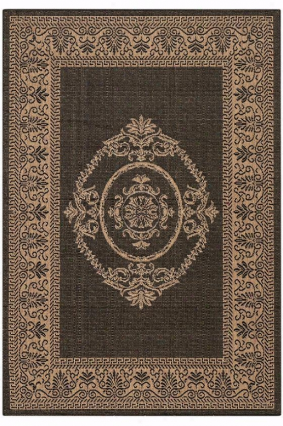 Mesa ii area rug 8 39 x11 39 brown rugs online catalog for All weather patio rugs