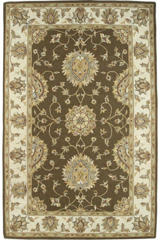 Medallion Iv Region Rug - 8x11, Brown-beige