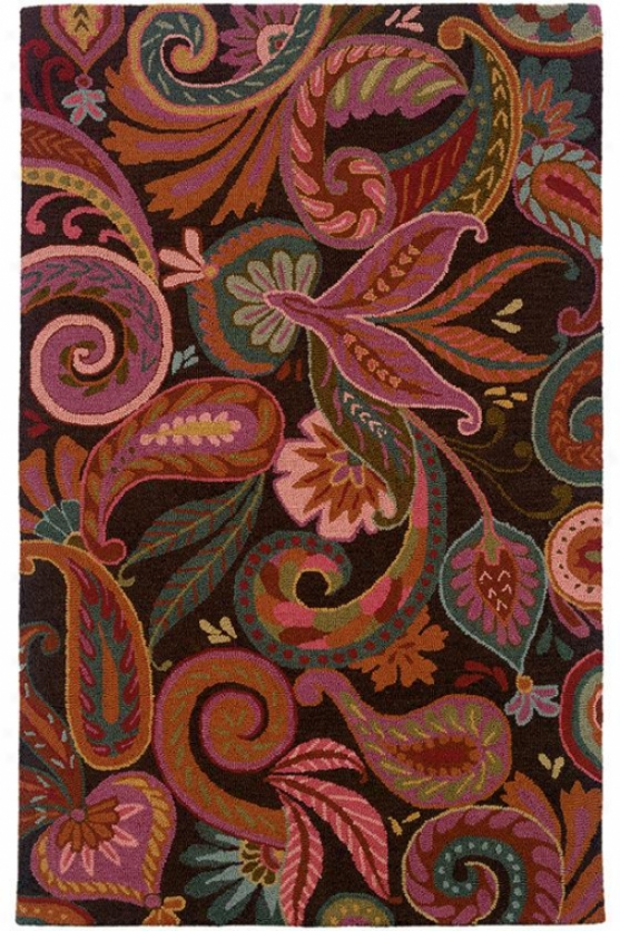 """melissa Area Rug - 2'6""""x8' Runner, Hot Pink"""