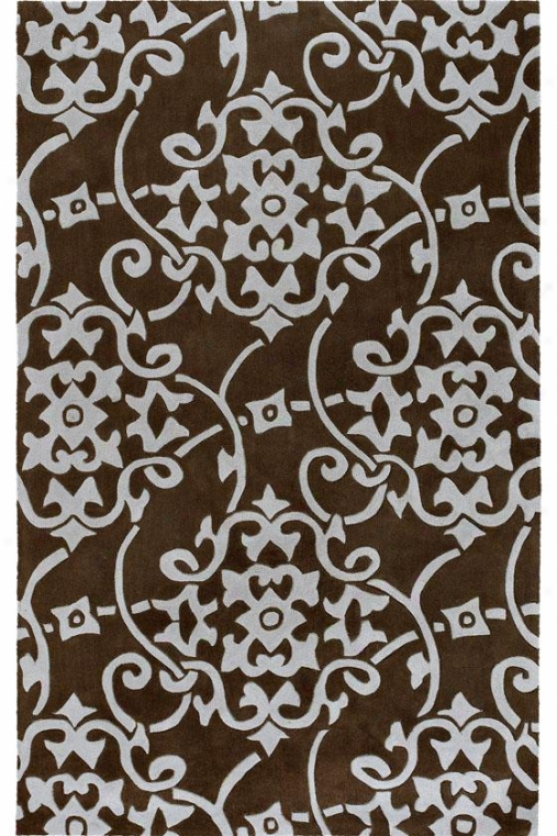 Merit Ii Yard Rug - 2x3, Chocolate Brown