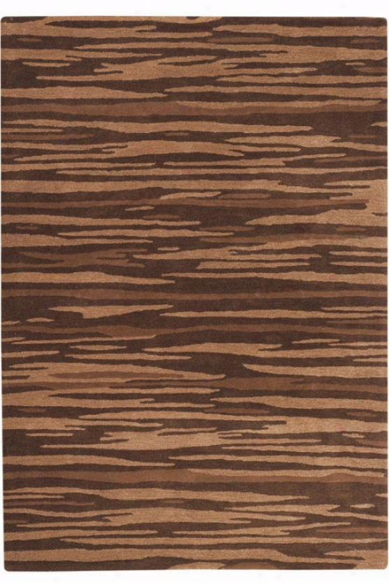 """minos Area Rug - 2'6""""x4'6"""", Brown"""