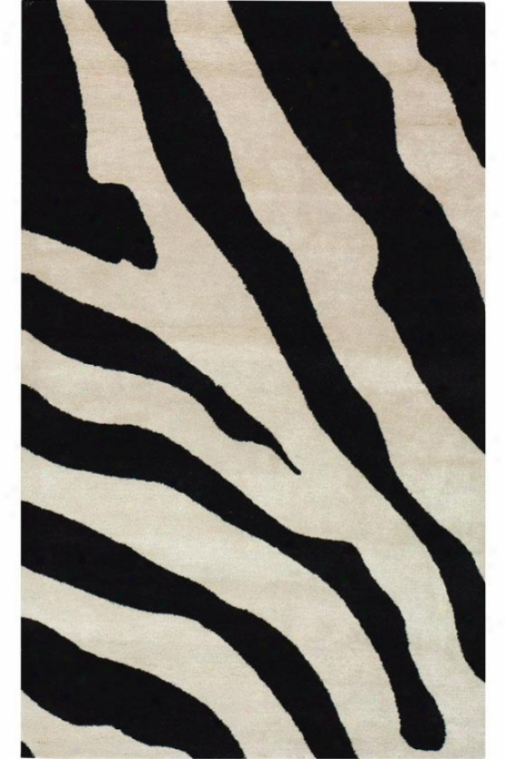 Mirage Area Rug - 2'x3', Black