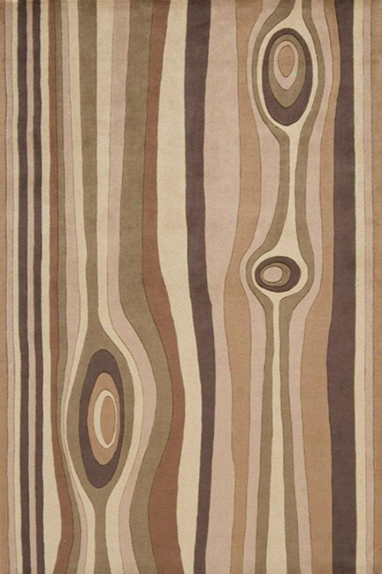 Momeni Current Area Rug - 2'x3', Tann