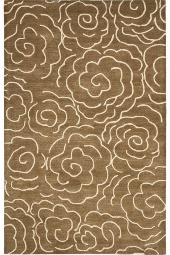 Mystical Region Wool Rug Ii
