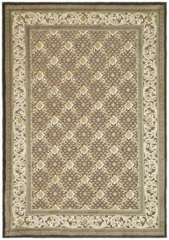 """napa I Area Rug - 2'7""""x4'runner, Brown"""