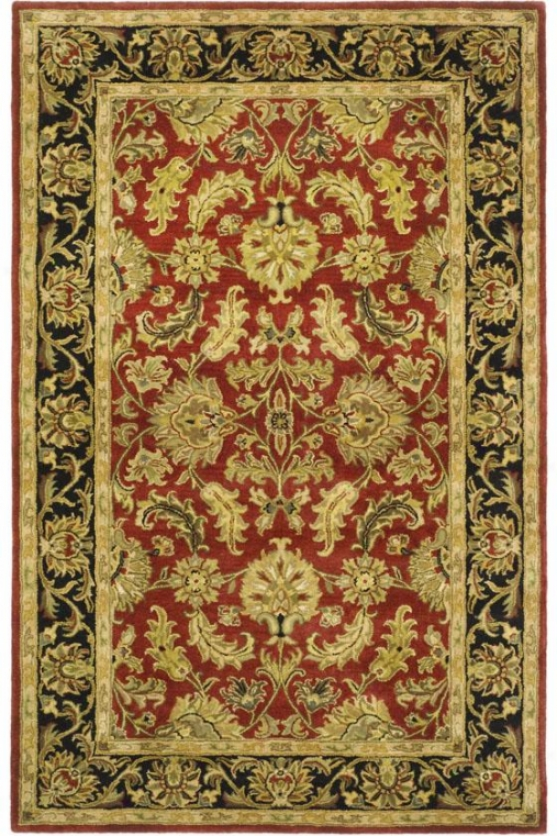 Naples Area Rug - 3'x5', Red