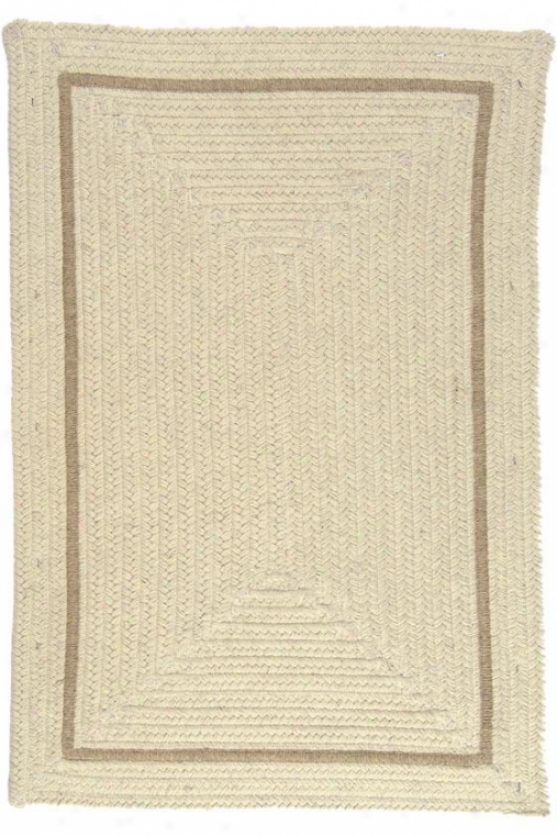 Natural Area Rug - 5'x8', Ivory