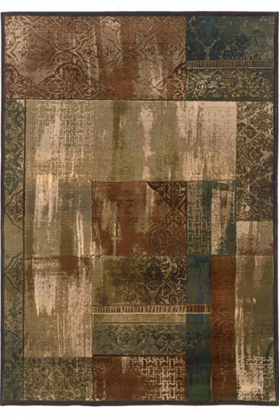 """new Country Area Rug - 6'7""""x9'1"""", Beige"""