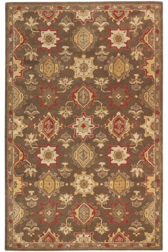 oNbility Area Rug - 2'x3', Chocolate Brown