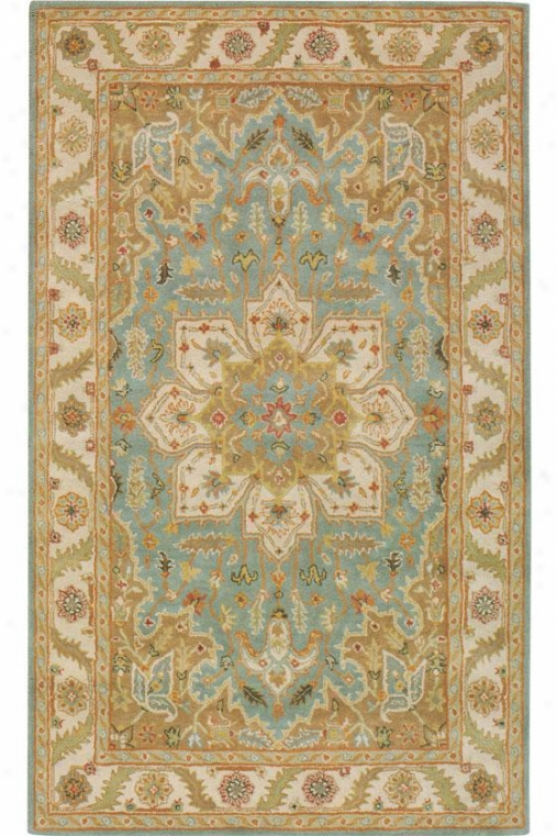 """norwich Superficial contents Rug - 2'3""""x10' Runner, Blue"""