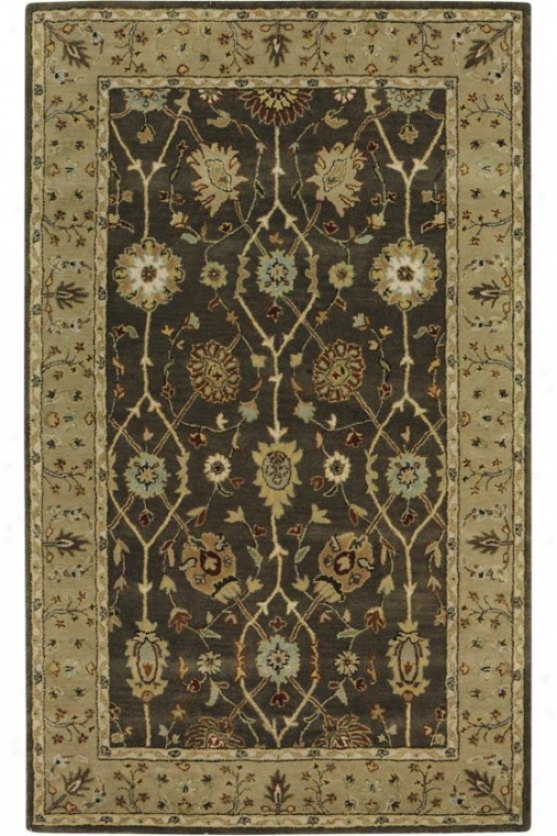 """nottingham Area Rug - 9'9""""x13'9"""", Gray"""