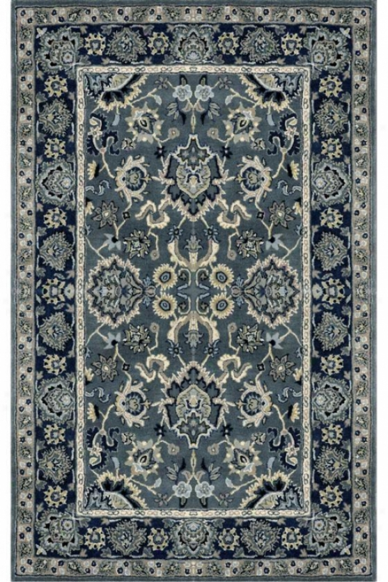 Olivia Superficial contents Rug - 8'x10', Blue