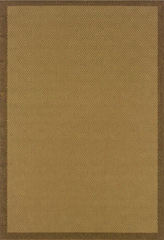 """Precious Weavers Boucle Ii Area Rug - 1'8""""x3'7"""", Chocolate Brown"""