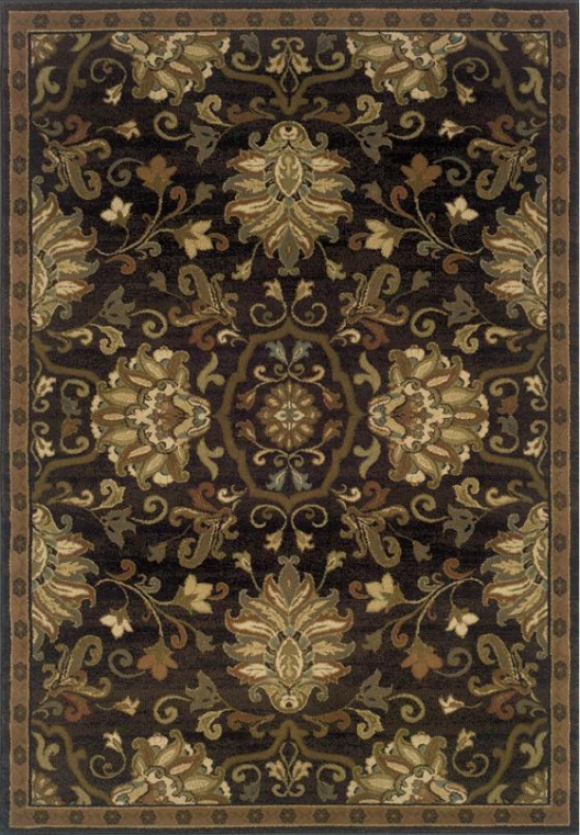 """oriental Weavers Eastgate Area Rug - 5'3""""x7'6"""", Coffee Brown"""