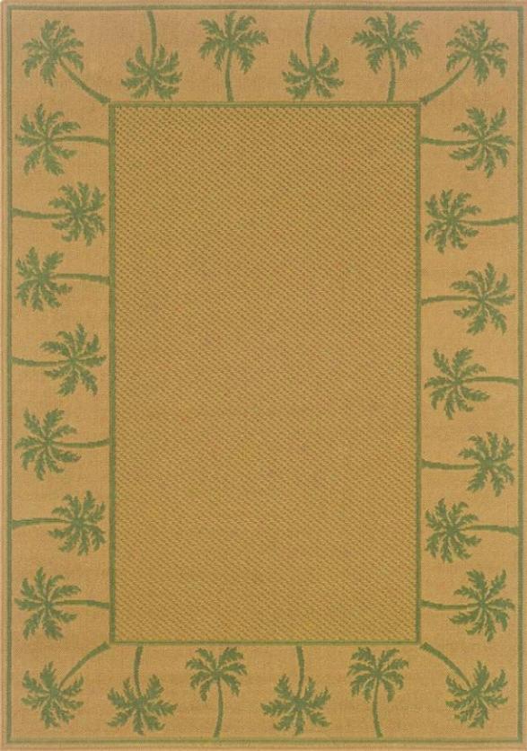 """""""oriental Weavers Palm iI Area Rug - 7'6""""""""x10'6"""""""", Beige"""""""