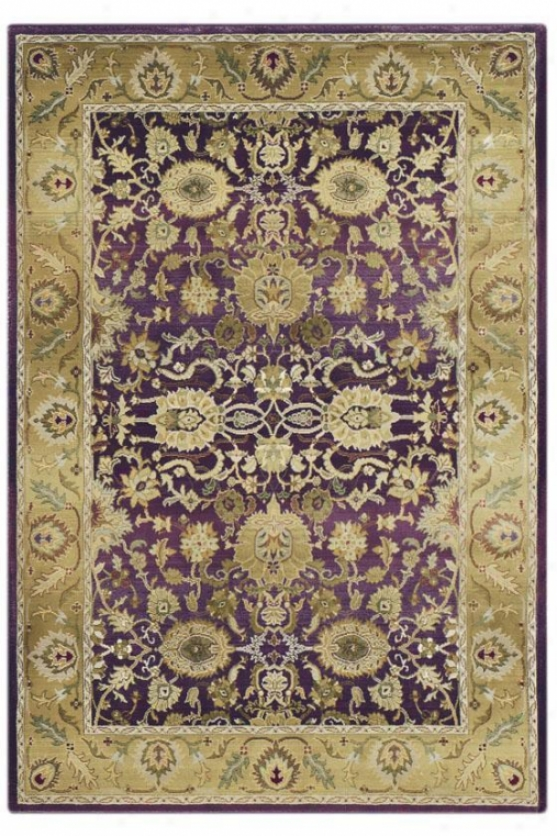Oriental Weavers Poise Area Rug - 8' Square, Purple