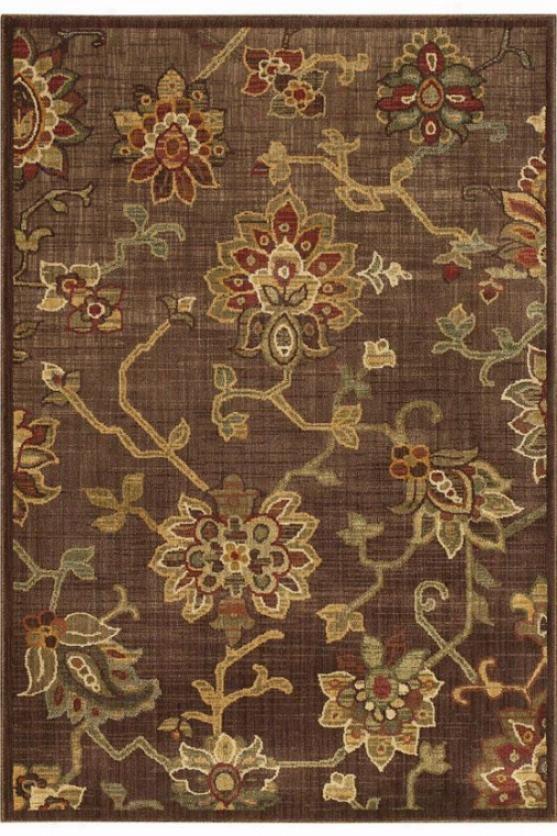 """""""oriental Weavers Promise Yard Rug - 7'8"""""""" Square, Brown"""""""