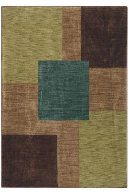 """oriental Weavers Synergy Area Rug - 6'7""""x9'6"""", Brown"""