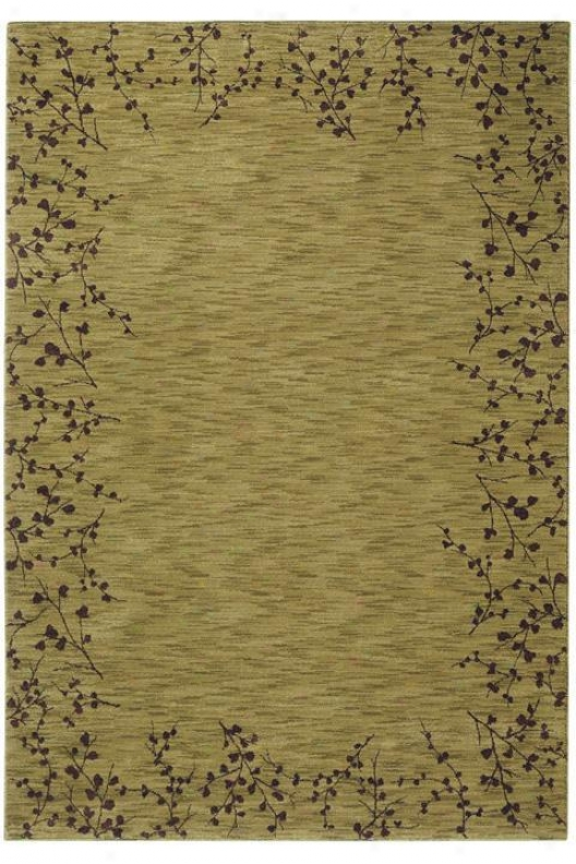 """oriental Weavers Vines Ii Area Rug - 7'8""""x10'10"""", Green"""