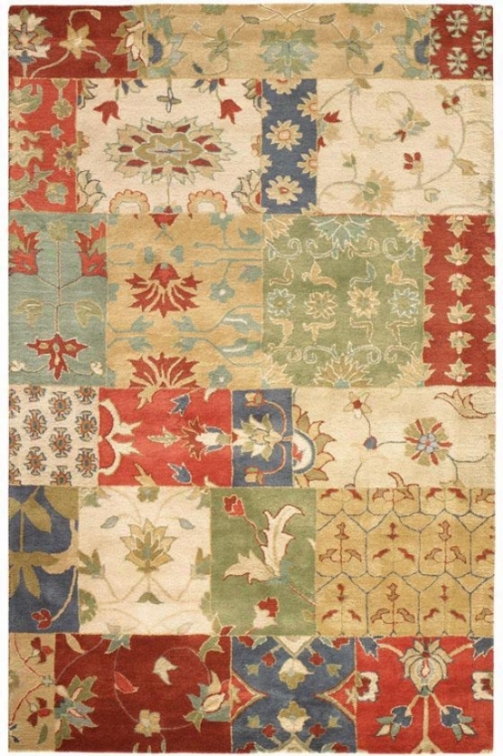 """patchwork Rug - 9'9""""x13'9"""", Multi"""