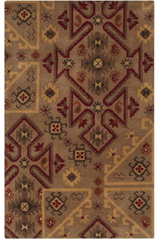 Phoenix Area Rug Ii - 5'x8', Brown