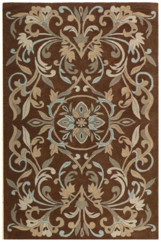 """prescott Area Rug - 9'9""""x13'9"""", Brown"""