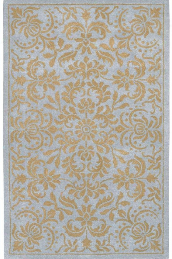 """prestige Ii Area Rug - 2'6""""x8' Runner, Pale Blue/tan"""