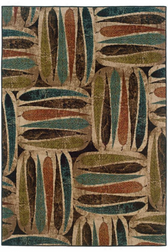 """profile Area Rug - 3'10""""x5'5"""", Multi"""