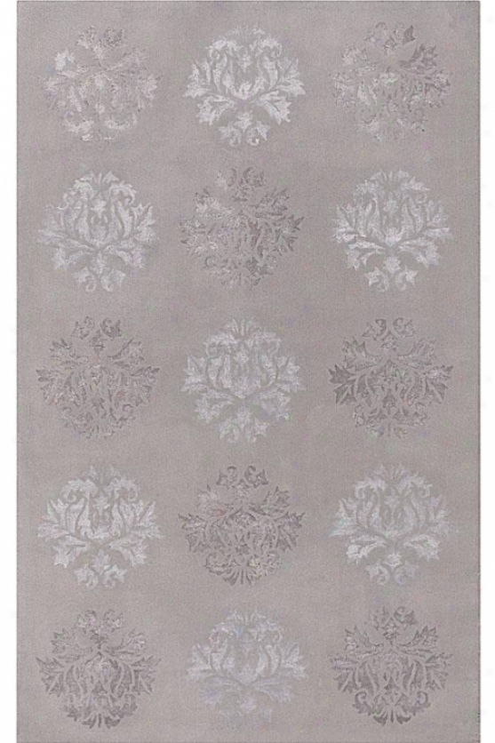 Province Ii Area Rug - 8x11, Lt Gray/silver