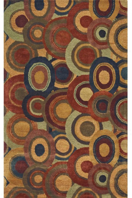"""ringlet Area Rug - 2'6""""x8' Runner, Brown"""