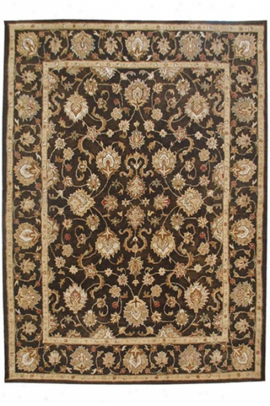 """rosaire Area Rug - 9'6x13'6"""", Charcoal Gray"""
