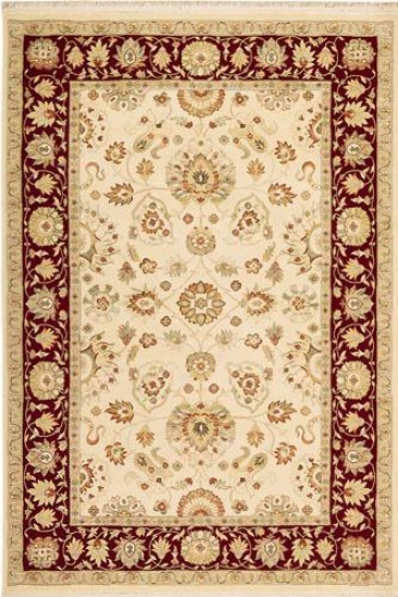 """royalty Area Rug - 7'10""""x10'10"""", Ivory"""