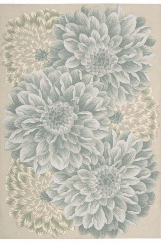"""sophie Area Rug - 3'6""""x5'6"""", Green"""