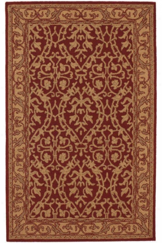 """sovereign Rug - 8'3""""x11', Burgundy"""