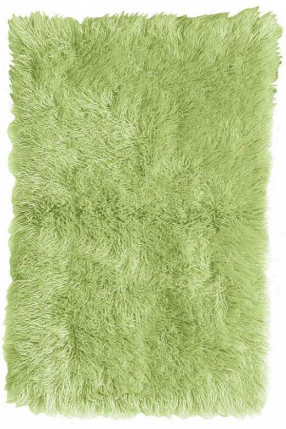 Standard Flokati Area Wool Rug