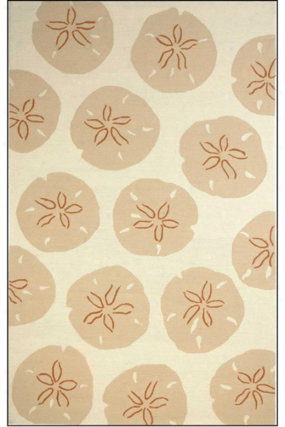 """starlight Area Rug - 5'x7'6"""", Dark Ivory"""
